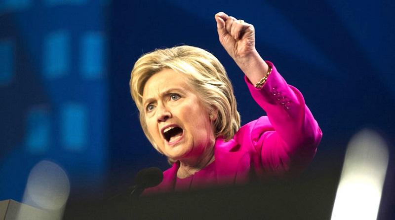 Trong mắt nhiều người, Hillary Clinton không khác gì ác quỷ đội lốt người