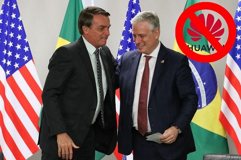 Mỹ cam kết tài trợ 1 tỷ USD cho Brazil để 'cấm cửa' Tập đoàn Huawei