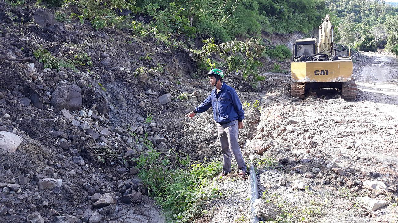 Gia Lai: Công trình thủy lợi 100 tỷ chưa bàn giao đã hư hỏng nặng bởi áp thấp nhiệt đới - Ảnh 2