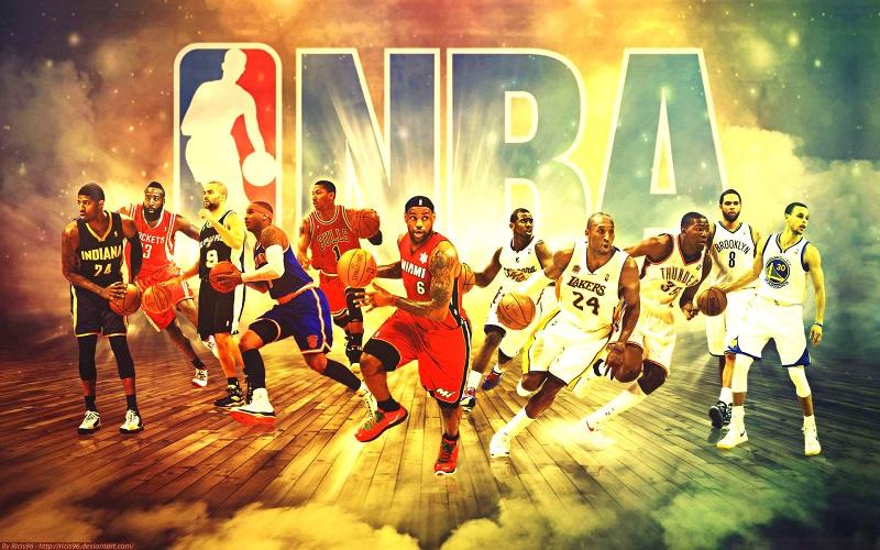 Một Poster của đội Bóng rổ Houston Rockets tại Hoa Kỳ