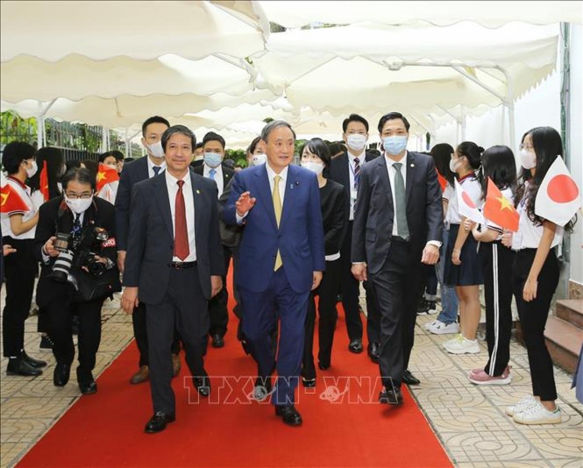 Toàn văn bài phát biểu của Thủ tướng Nhật Bản Suga Yoshihide tại Trường Đại học Việt - Nhật