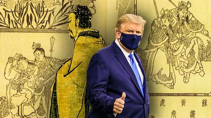 """Sự trùng hợp kinh ngạc: Donald Trump phá """"Hồng Sa Trận"""" giống Võ Vương trong Phong Thần diễn nghĩa"""