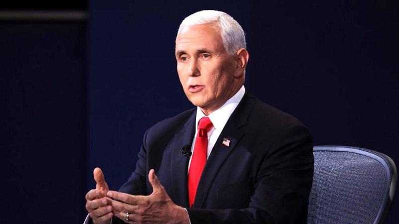 Phó Tổng thống Pence tại Đại học Utah ở Thành phố Salt Lake, Utah trước cuộc tranh luận, ông nhấn mạnh: Chúng tôi sẽ thắng