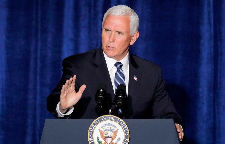 Phó Tổng thống Mike Pence phát biểu tại thành phố Tucson, bang Arizona vào ngày 11/8/2020