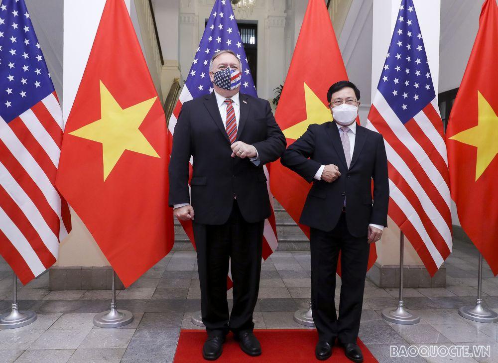 Ngoại trưởng Mỹ Mike Pompeo đến Việt Nam để làm gì? - Ảnh 2