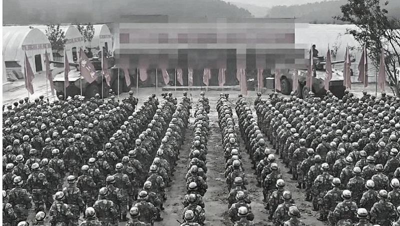 """""""Bức hình tuyên thệ"""" của ĐCSTQ ở Chiến khu phía Đông khiến chính tiểu phấn hồng phải thất vọng"""
