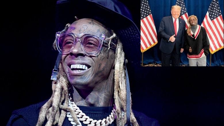 Rapper Lil Wayne cho biết anh đã có một 'cuộc gặp tuyệt vời' với Tổng thống Trump vào hôm 29/10/2020.