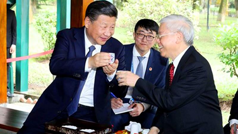 Cuộc điện đàm gây nhiều suy đoán của ông Tập Cận Bình với TBT Nguyễn Phú Trọng (ảnh 1)