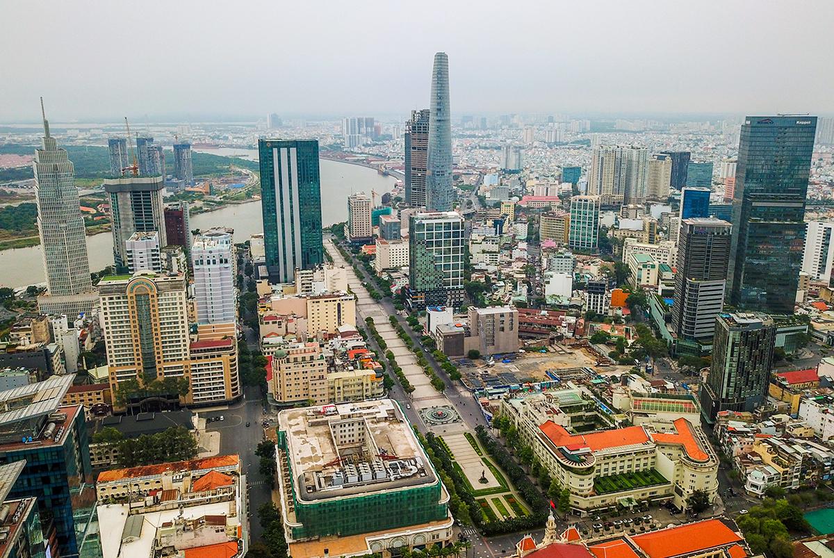 TP.HCM đặt mục tiêu năm 2045 sẽ trở thành trung tâm kinh tế, tài chính của châu Á - Ảnh 1