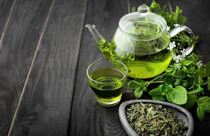 Uống trà xanh giúp chống oxy hóa