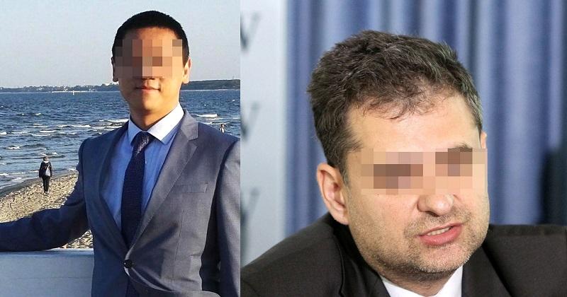 Vương Vỹ Tinh (trái) và Piotr D (phải)