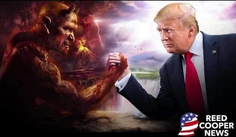 """Người dân Mỹ: """"Chúng tôi không hề mong muốn phải đàm phán với quỷ dữ. Nếu mong muốn được sống trong hòa bình, chúng ta buộc phải hủy diệt thứ quỷ dữ đó trong khía cạnh chính trị, bài trừ nó ra khỏi xã hội này""""."""