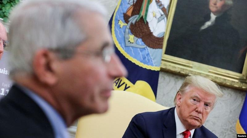 TT Trump ám chỉ sẽ sa thải Cố vấn y tế Nhà Trắng Anthony Fauci sau bầu cử