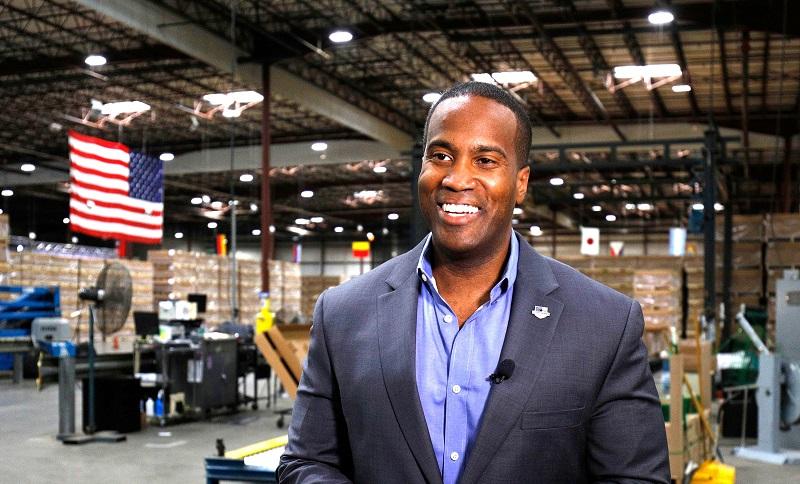 John James - ứng viên của đảng Cộng hòa trong chiến dịch tranh cử tại Thượng viện Michigan