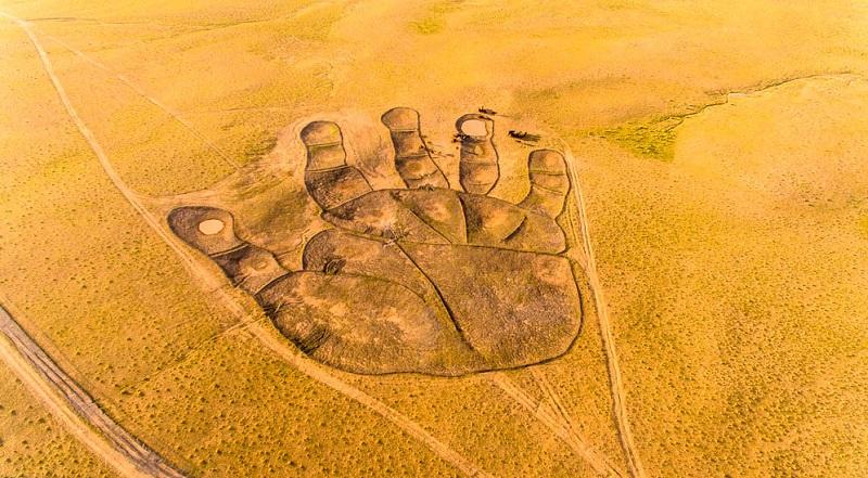Bàn tay Phật - Tác phẩm khiến nhiều người trầm trồ thán phục
