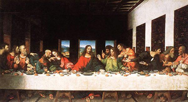 """Hình 7: Phục hồi bức bích họa nổi tiếng """"Bữa tối cuối cùng"""" của Leonardo da Vinci vào thế kỷ 15."""