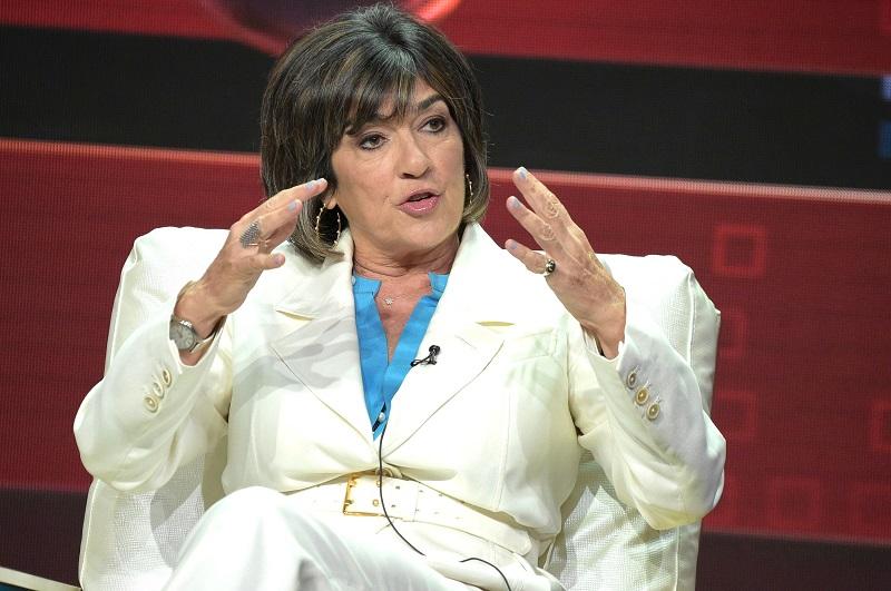 Christiane Amanpour - người dẫn chương trình tin tức quốc tế của CNN