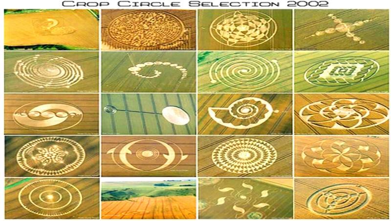 Các vòng tròn bí ẩn xuất hiện trên cánh đồng nước Anh có liên quan đến người ngoài hành tinh