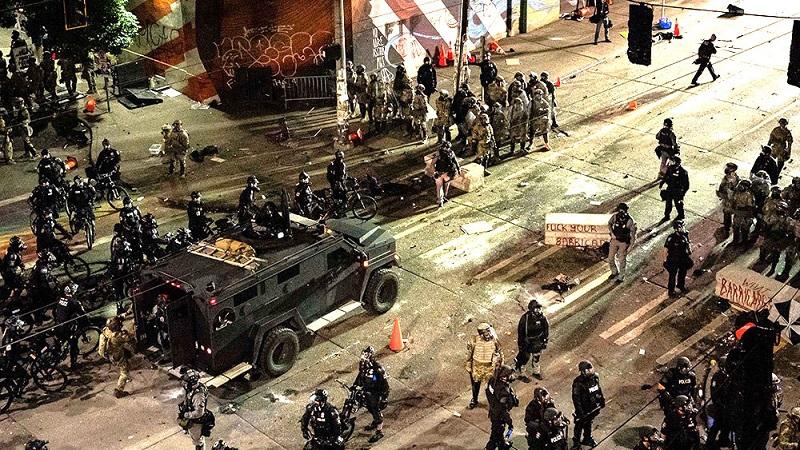 Một cuộc bạo loạn xảy ra tại Seattle vào tháng 7/2020