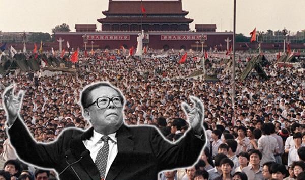 Ngay sau khi tiến vào Quảng trường Thiên An Môn, ĐCSTQ liền xả súng hàng loạt vào đám đông người biểu tình mà chủ yếu là học sinh, sinh viên trẻ tuổi. Người chết, người bị thương nhiều không đếm xuể.