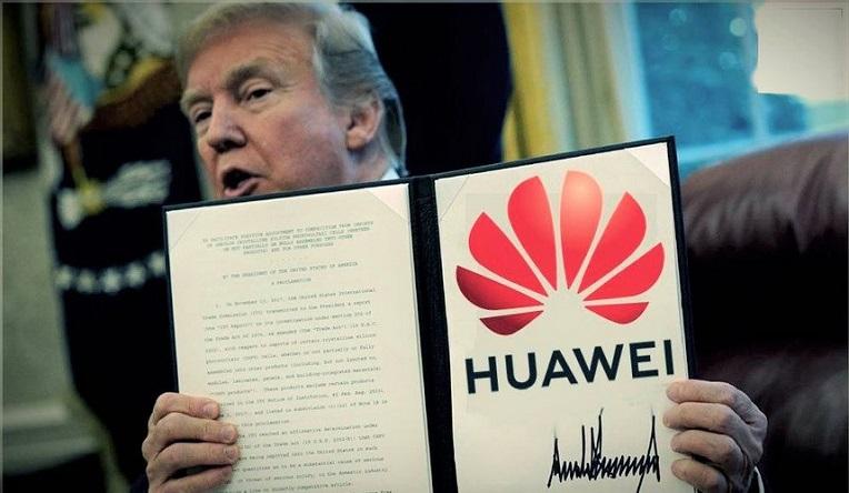 Chính quyền Trump đã sớm liệt Huawei vào danh sách đen vì cho rằng tập đoàn viễn thông này là cánh tasy gián điệp của Bắc Kinh