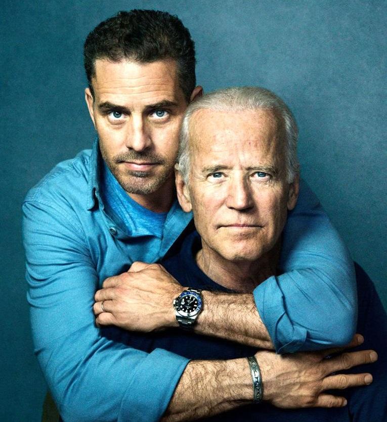 Cha con gia đình nhà Biden