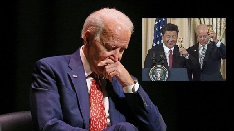 Cựu Phó Tổng thống Joe Biden tạm dừng khi ông phát biểu tại Đại học Utah, Thành phố Salt Lake vào ngày 13/12/2018. Ông Joe Biden và Chủ tịch Tập Cận Bình trong buổi quốc yến do Ngoại trưởng Hoa Kỳ John Kerry chủ trì tại Bộ Ngoại giao ở Washington vào ngày 25/9/2015.