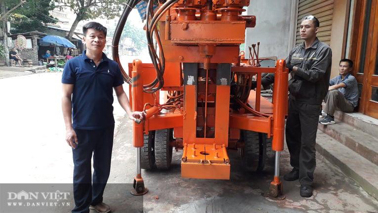 """Thái Nguyên: Nông dân lại """"vượt mặt"""" nhà khoa học, sáng chế cả máy khoan xuất khẩu - Ảnh 1"""