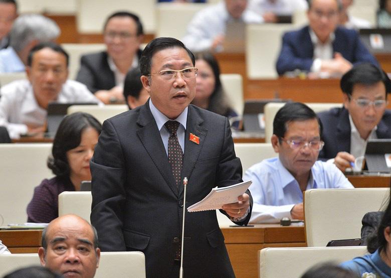"""ĐBQH Lưu Bình Nhưỡng: """"...vào dịp lễ, Tết là công an cơ sở đi thu tiền của bà con…"""""""