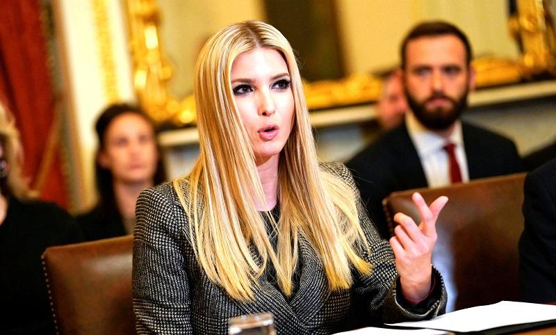 Ivanka Trump - cố vấn Nhà trắng và cũng là con gái đầu lòng của TT Trump