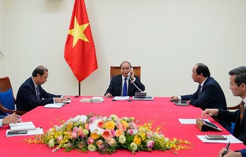Thủ tướng tiếp Đại sứ Nga, điện đàm cùng người đồng cấp Thái Lan - Ảnh 1