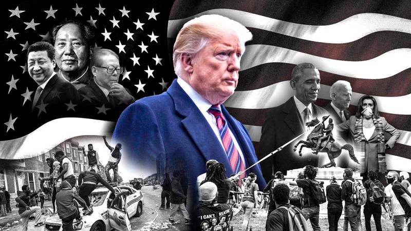 """TT Trump là """"hòn đá ngáng đường"""" của nhiều thế lực muốn thâu tóm Mỹ và thế giới"""
