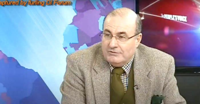 Cựu luật sư người Anh - Michael Shrimpton