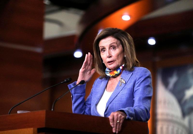Chủ tịch Hạ Viện Nancy Pelosi bị cáo buộc có liên quan đến các máy kiểm phiếu gian lận trong cuộc tổng tuyển cử