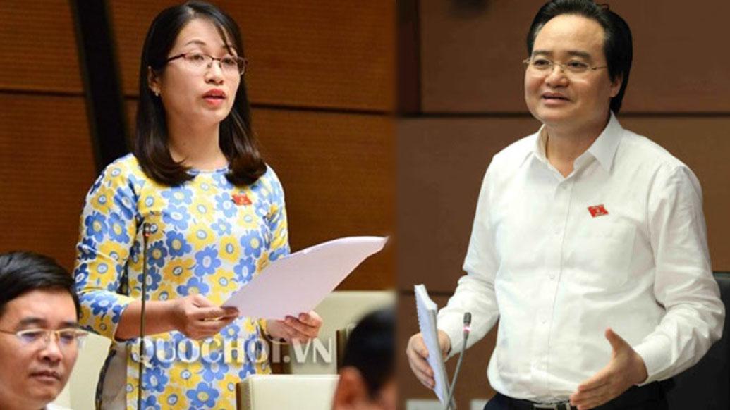 ĐBQH yêu cầu thu hồi SGK, Bộ trưởng Nhạ nói cần 5 năm chỉnh sửa
