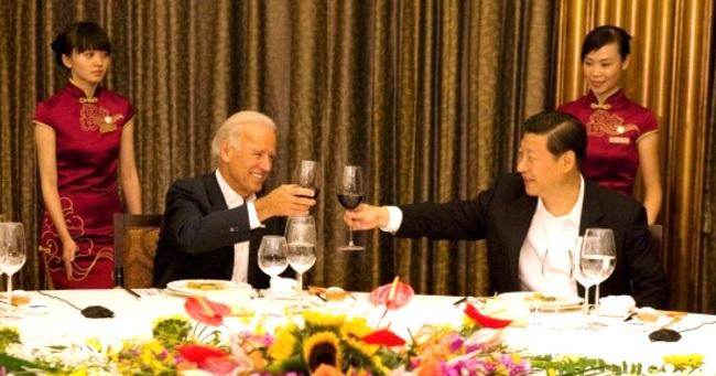 Một bữa tiệc thân mật giữa Joe Biden và chủ tịch Trung Quốc Tập Cận Bình
