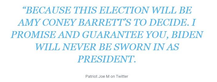 """Nội dung bài đăng của """"Patriot Joe M""""."""