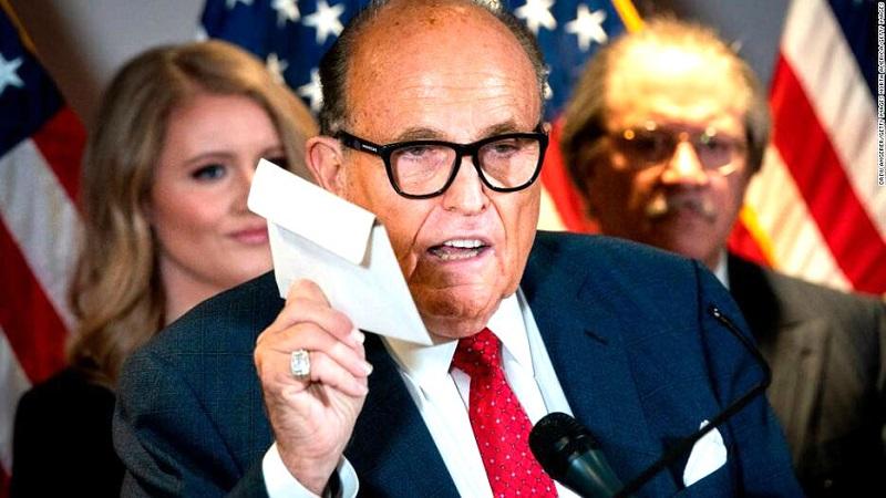 luật sư của Tổng thống Trump - Ông Rudy Giuliani