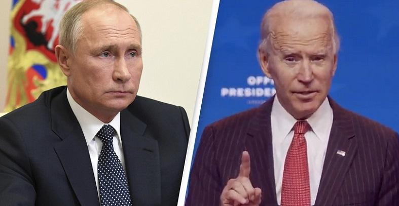 Ảnh kết hợp: Tổng thống Nga Vladimir Putin và ứng cử viên đảng Dân chủ Joe Biden