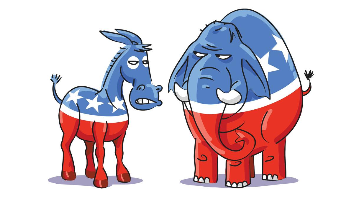 Sự khác biệt về lý niệm giữa Đảng Cộng hòa và Đảng Dân chủ