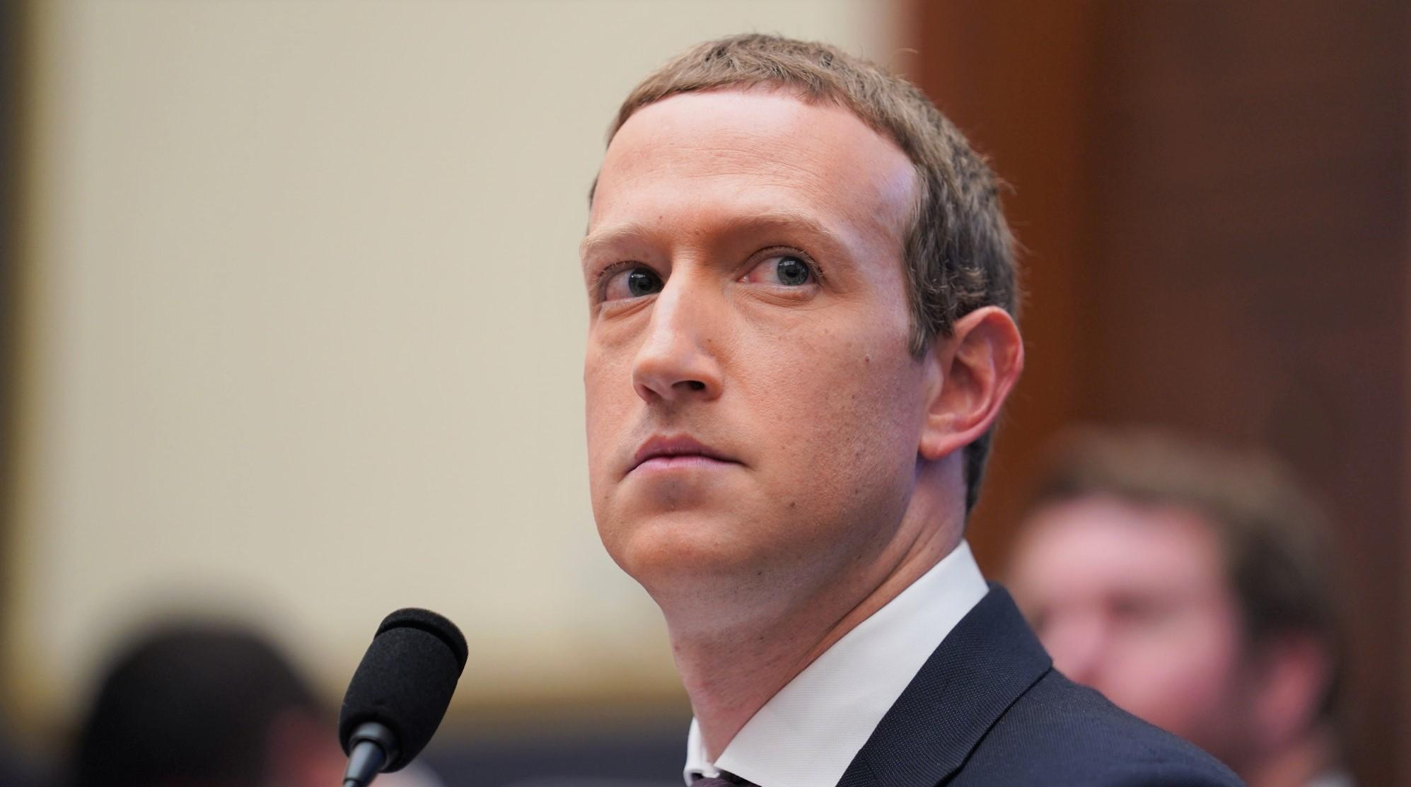 CEO Facebook - Mark Zuckerberg điều trần trước Ủy ban Dịch vụ Tài chính Hạ viện Hoa Kỳ tại Capitol Hill ở Washington DC, Hoa Kỳ, vào ngày 23/1/2019