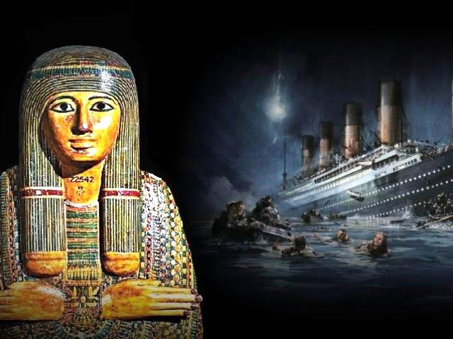 Khai mở bí ẩn: Mối liên hệ giữa lời nguyền xác ướp và vụ đắm tàu Titanic