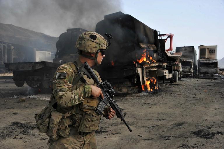TT.Trump có thể sẽ giải mật thông tin về việc TQ trả tiền cho khủng bố giết lính Mỹ