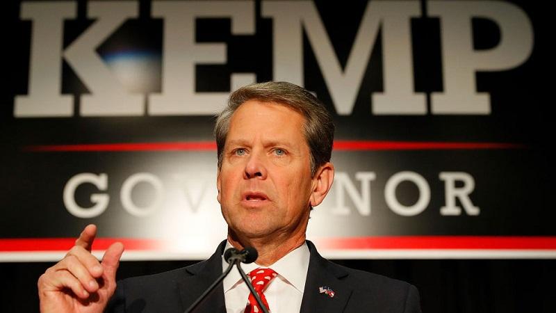 Brian Kemp - người của đảng Cộng hòa thân ĐCSTQ