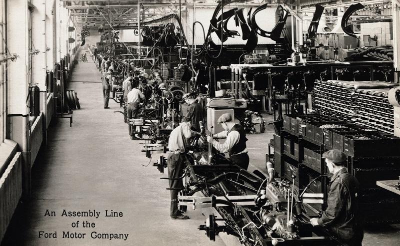 công nghiệp hóa, Mỹ