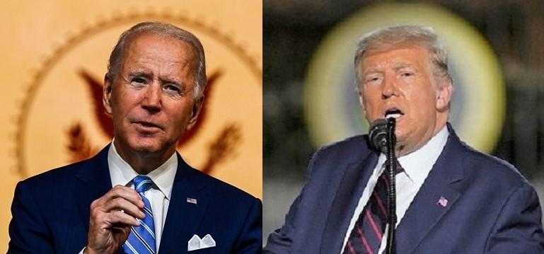 Tổng thống Donald Trump có bài phát biểu chấp nhận sự đề cử của Đảng Cộng hòa tại Bãi cỏ phía Nam của Nhà Trắng và ứng cử viên đảng Dân chủ Joe Biden đọc diễn văn Lễ Tạ ơn tại Nhà hát Queen ở Wilmington, Delaware, vào ngày 25/11/2020
