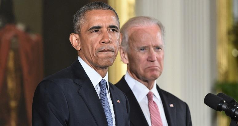 Cựu Tổng thống Hoa Kỳ Barack Obama và Cựu Phó Tổng thống Joe Bien.