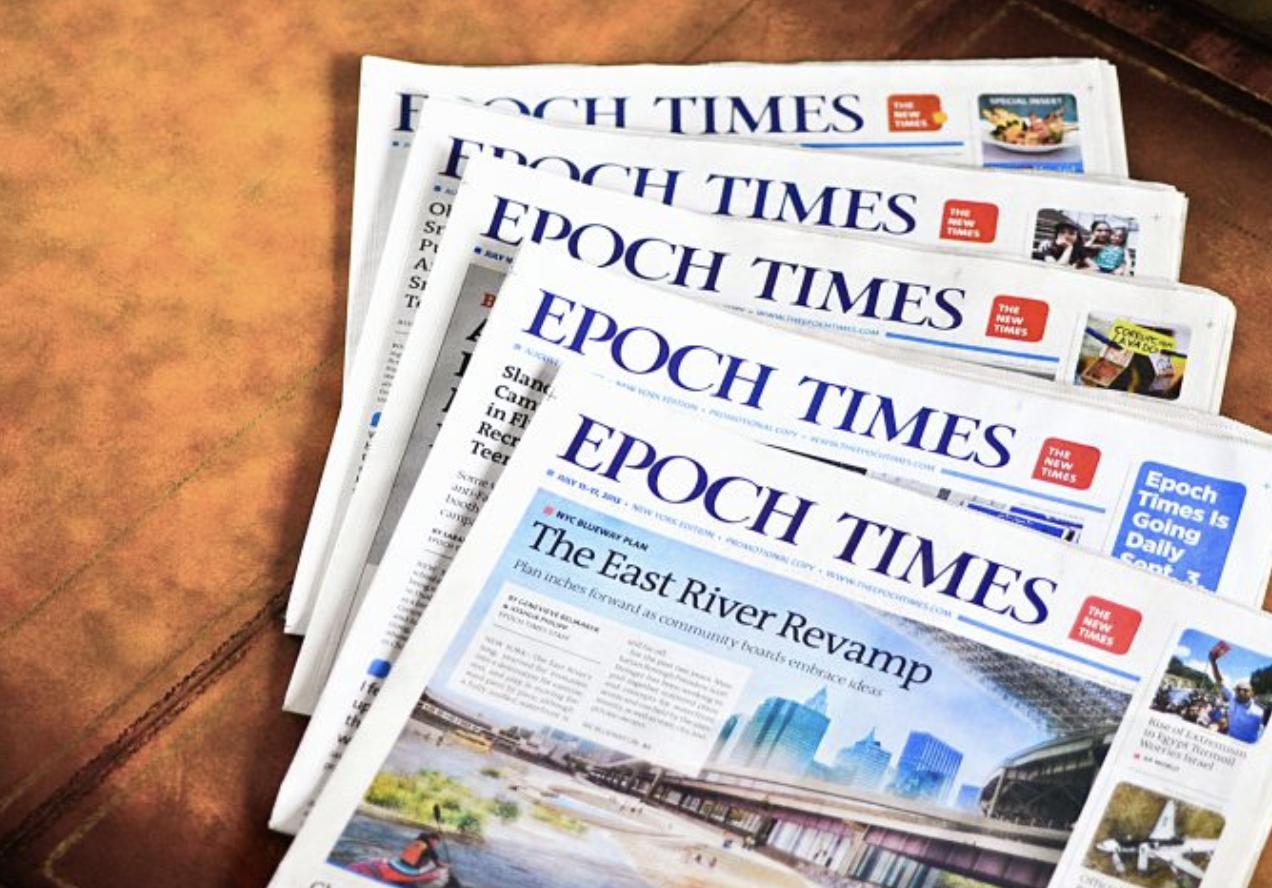 Epoch Times, tờ báo uy tín đưa thông tin chân thực về gian lận cuộc bầu cử Mỹ