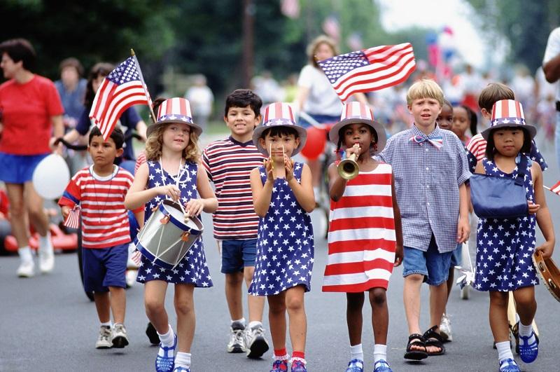 Người dân Hoa Kỳ có tự do và rất trật tự