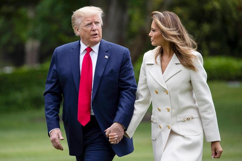 """Tổng thống Trump: """"Melania không chỉ xinh đẹp, thanh lịch mà còn đẹp về tâm hồn"""""""